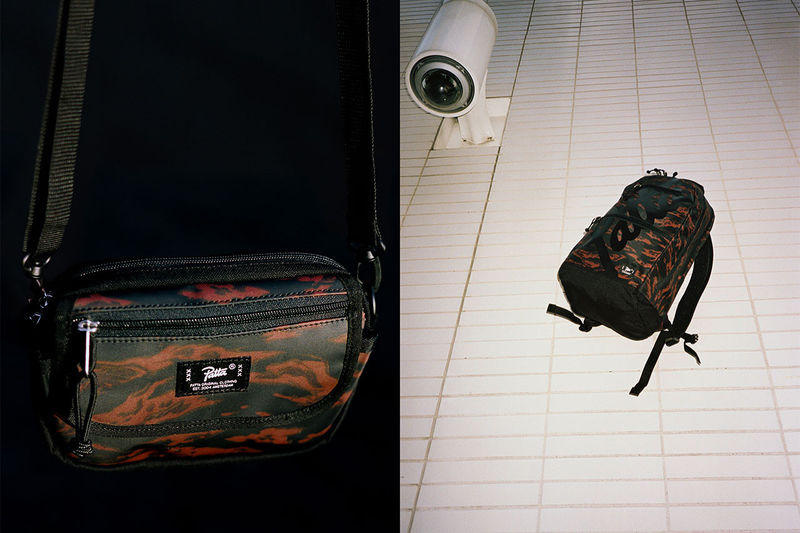 Tiger Stripe Camo Bags