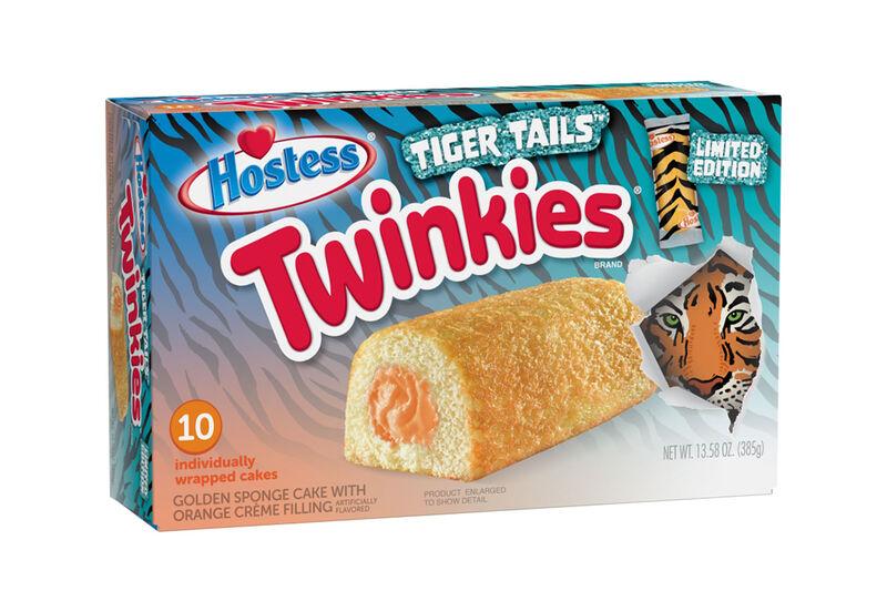 Tiger-Inspired Snack Cakes