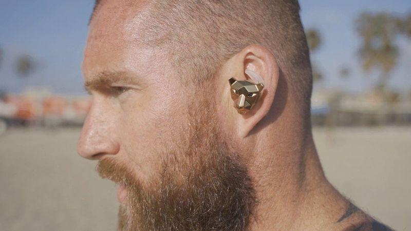 Angular Animalistic Earbuds