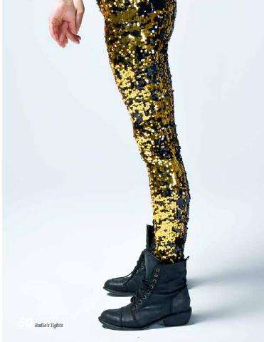 Wild Sequined Leggings