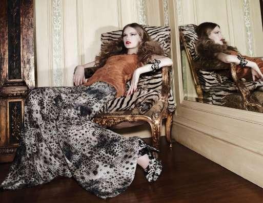 Glamorous Feline Fashion