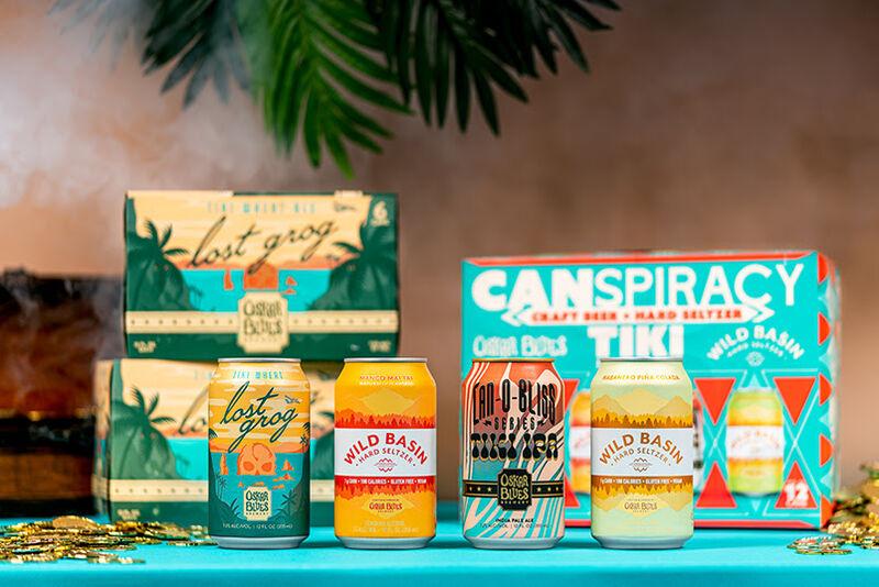 Tiki-Inspired  Alcohol Packs