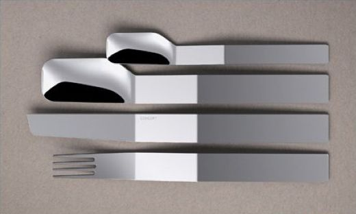 Slick Pleated Silverware