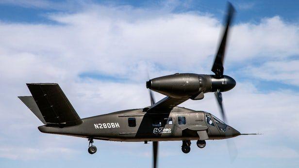 Lightweight Tilt-Rotor Aircrafts