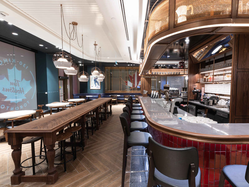 Reinvented Canadian Cafe Concepts