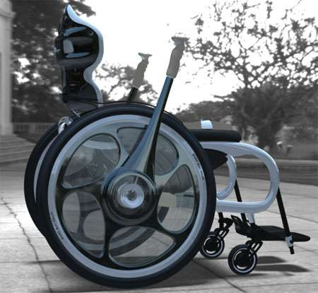 Upright Wheelchair Concepts