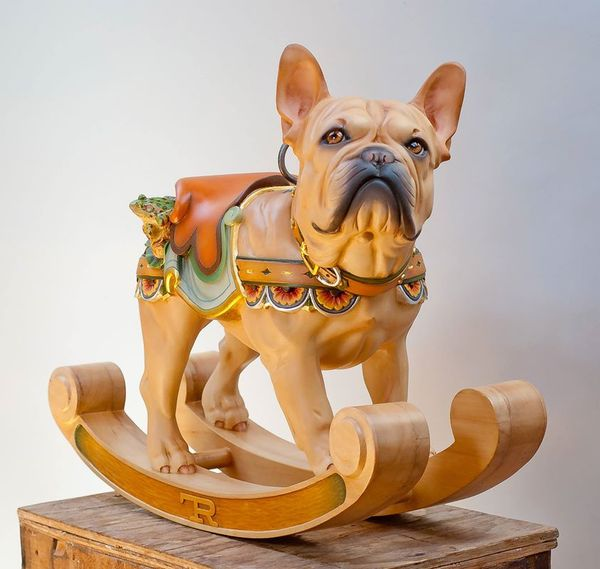 Wooden Canine Carousels