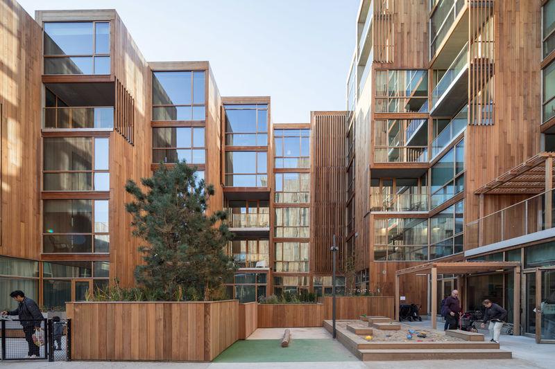 Modular Prefabricated Timber Apartments