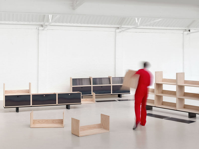 Modular Wooden Storage Systems