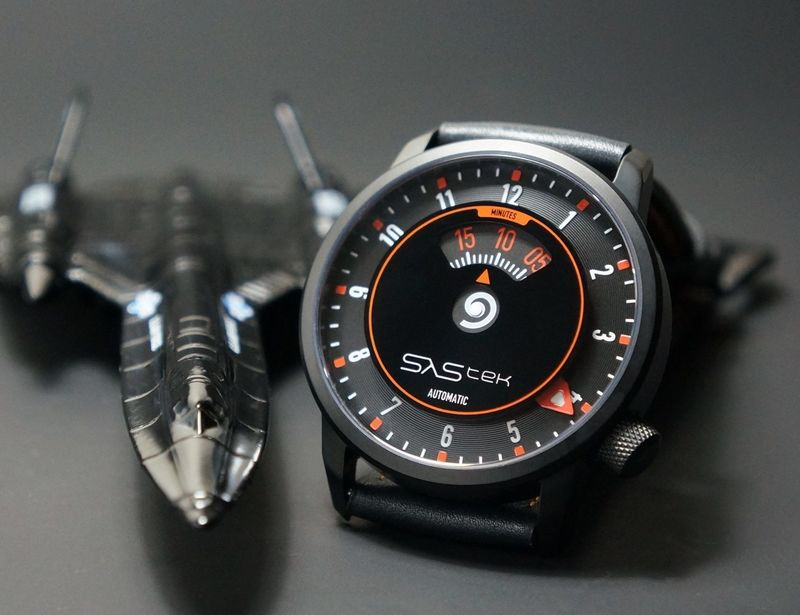 Speedometer-Inspired Timepieces