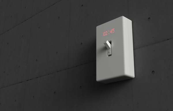 Hybrid light switches the time switch wall clock can be flicked hybrid light switches aloadofball Gallery