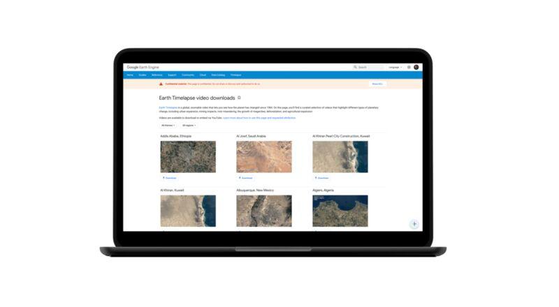 Interactive Satellite Image Platforms