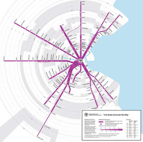 Temporal-Based Transit Maps