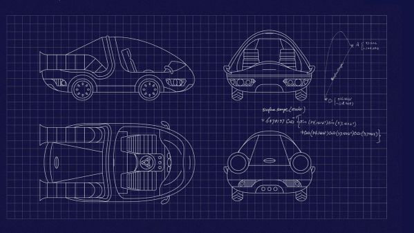 Time-Traveling Car Blueprints