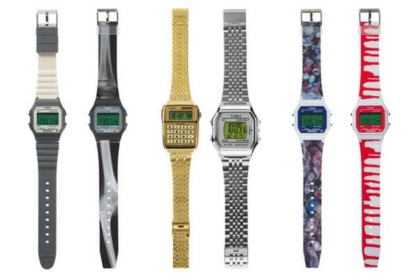 Geeky 24-Karat Timepieces