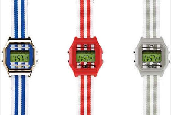 Striped Retro Timepieces