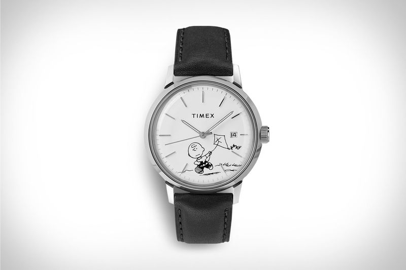 Monochrome Cartoon Timepieces
