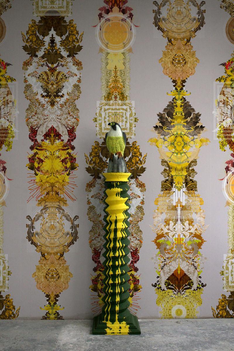 Intricate Totem-Inspired Wallpaper