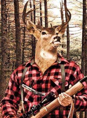 Animal Head Outdoorsmen