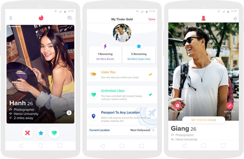 Minimalistic Dating Apps : Tinder Lite