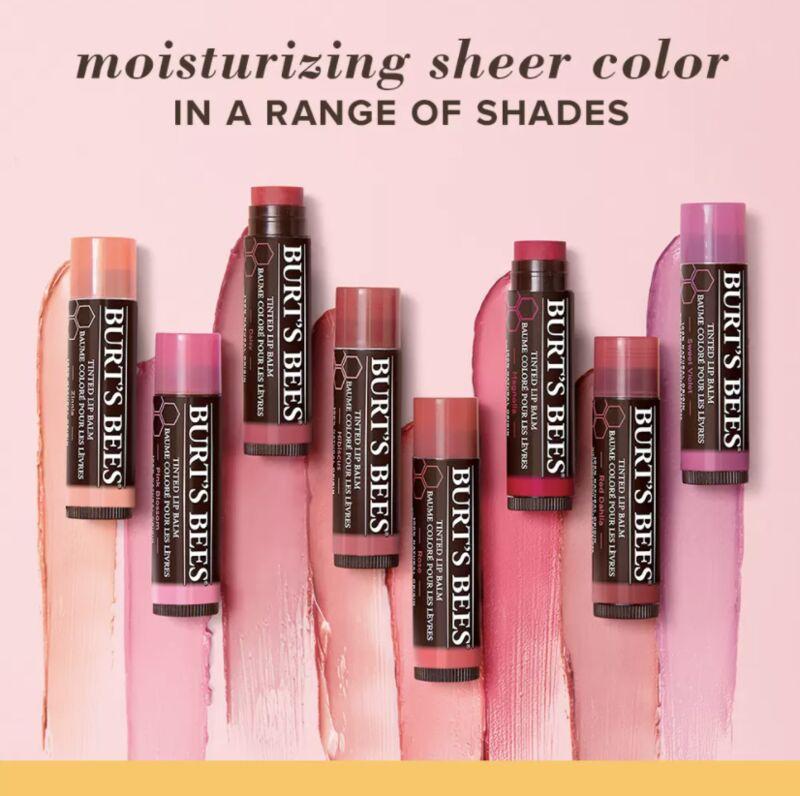 Long-Lasting Tinted Lip Balms