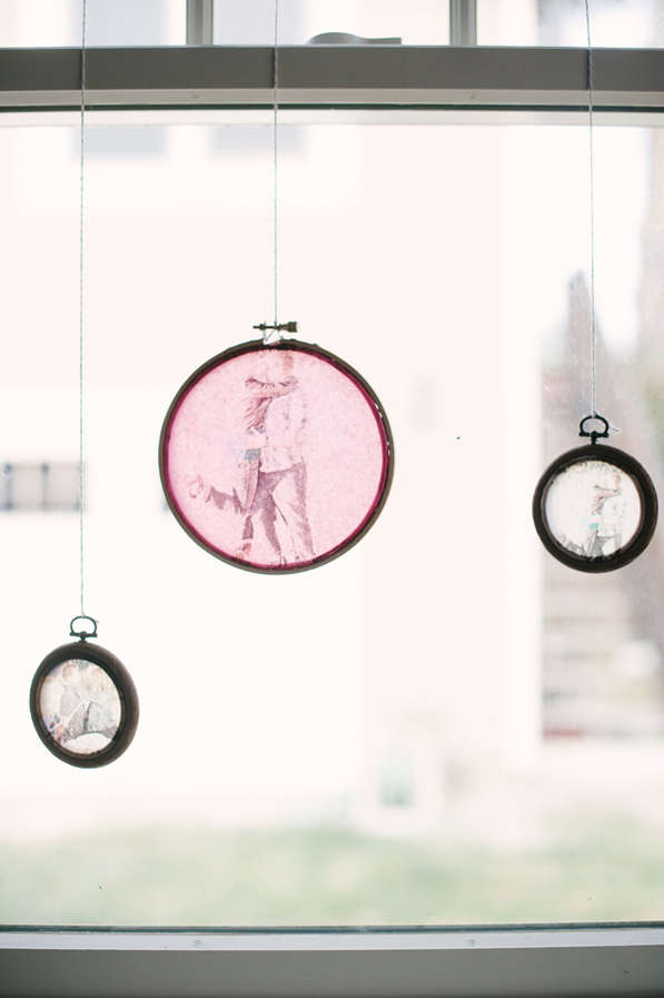 DIY Stained Glass Photos