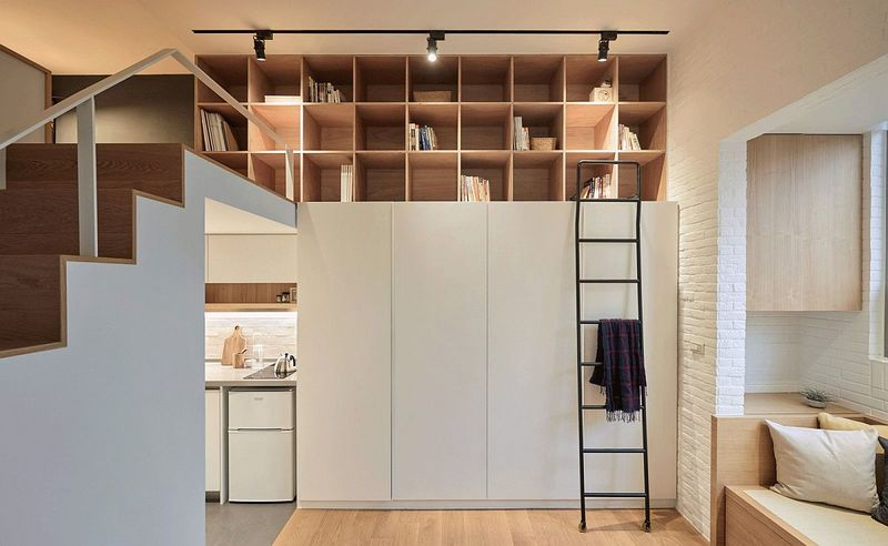 Industrial Micro Apartments