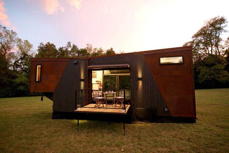 Coffee-Powered Tiny Homes