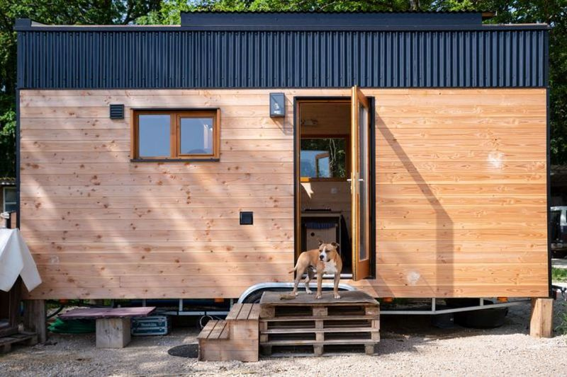 Removable Roof Tiny Homes