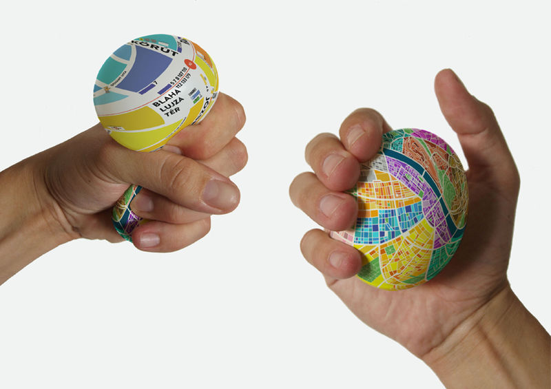 Typographic Egg Maps