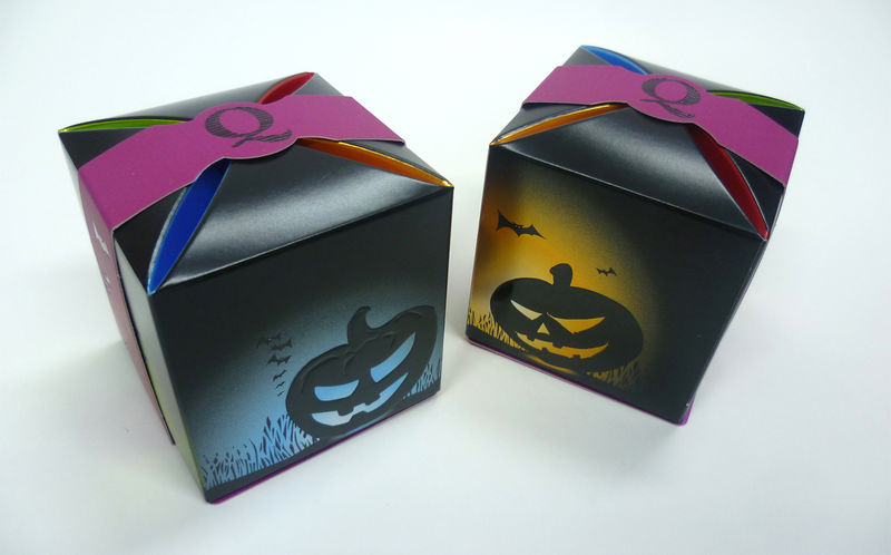 Glossy Halloween Packaging