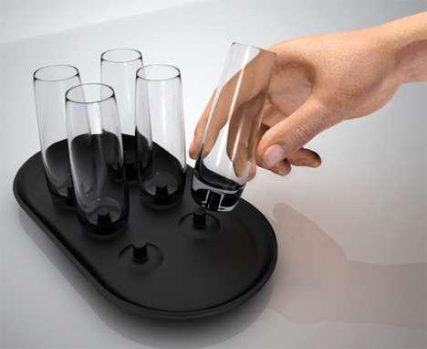 Anti-Klutz Glassware