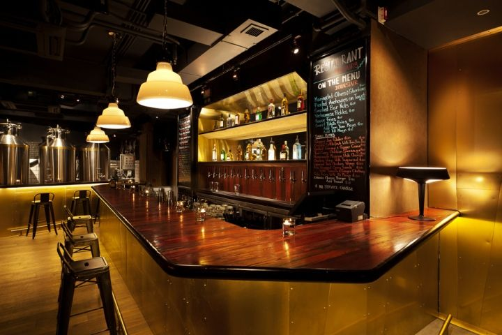 Authenticity driven lounge bars tipping point brewery - Mobiliario de un bar ...