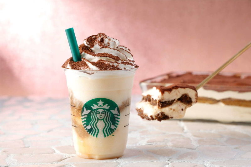 Coffee-Soaked Cake Drinks