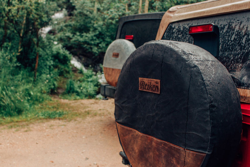 Fashionable Car Tire Covers