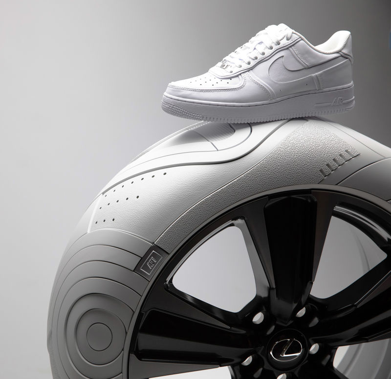 Sneaker-Inspired Tire Designs