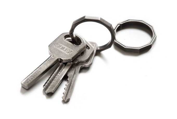 Unbreakable Key Rings Titanium Keychain