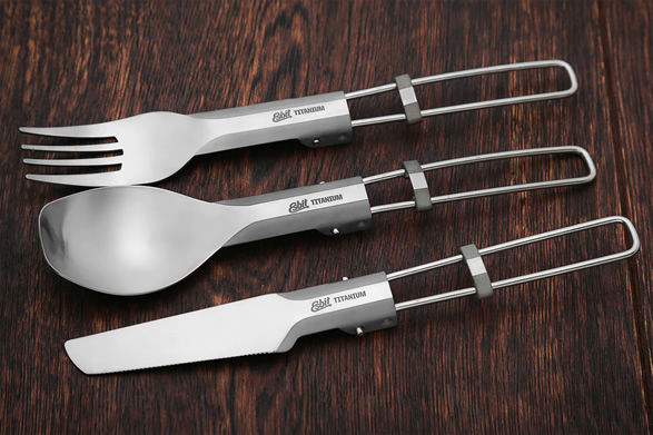 Lightweight Folding Eco Cutlery