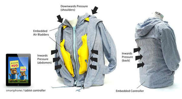 Hug-Simulating Outerwear
