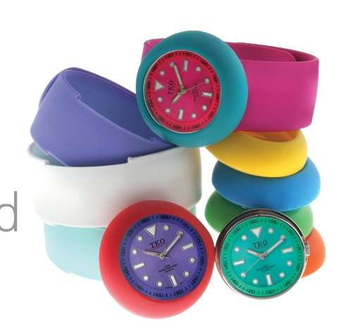 Slap Bracelet Watches
