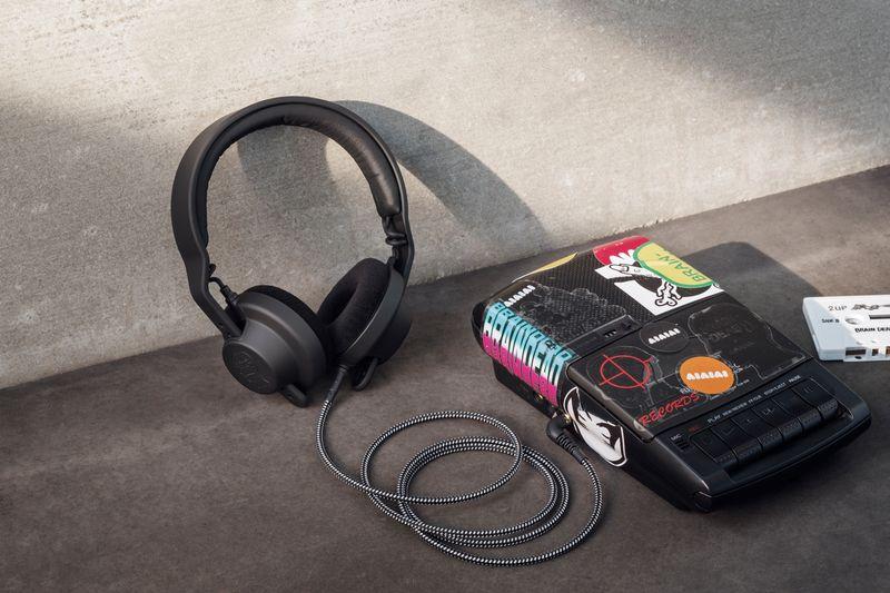 Cassette-Compatible Headphones
