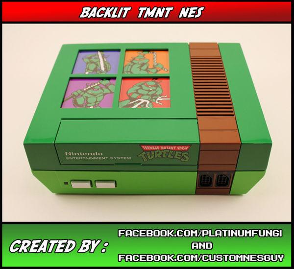 Retro Turtle Consoles