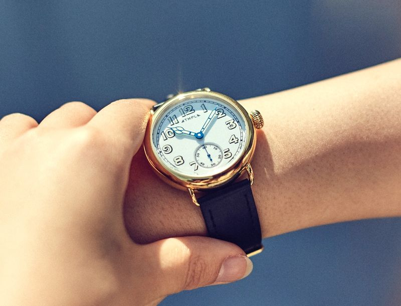 Historically Inspired Wristwatches - These TMPL Timepieces Pay Homage to the Original Wristwatches (TrendHunter.com)