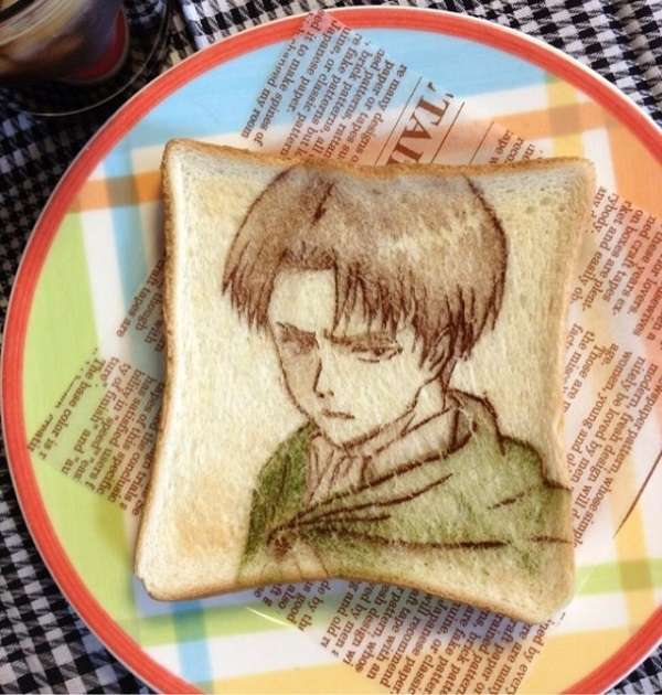Japanese Toast Art