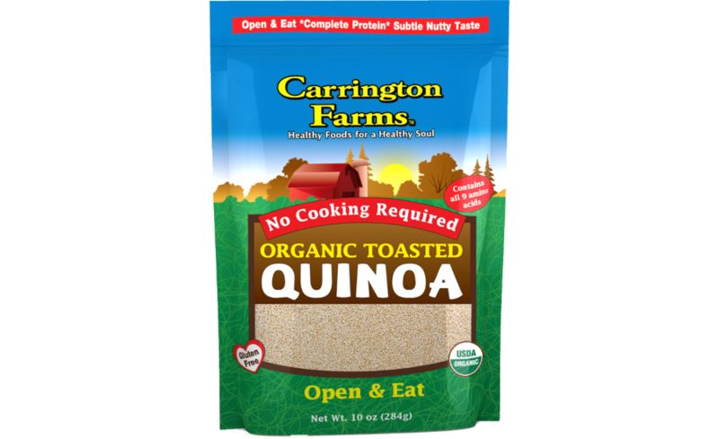 Ready-to-Eat Quinoa Snacks