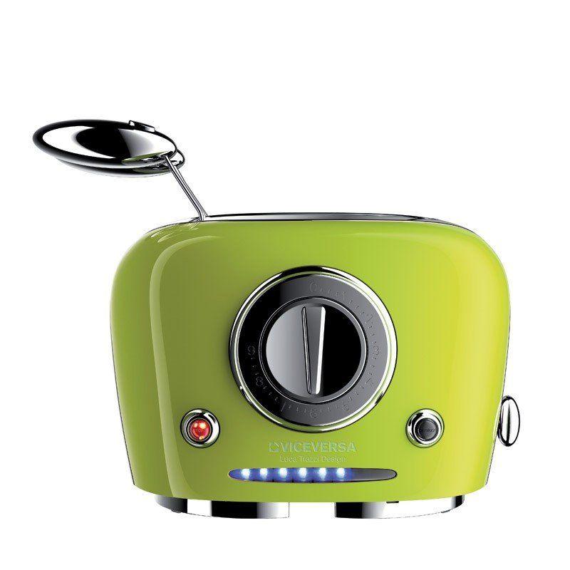 retro futuristic toasters toaster appliance. Black Bedroom Furniture Sets. Home Design Ideas