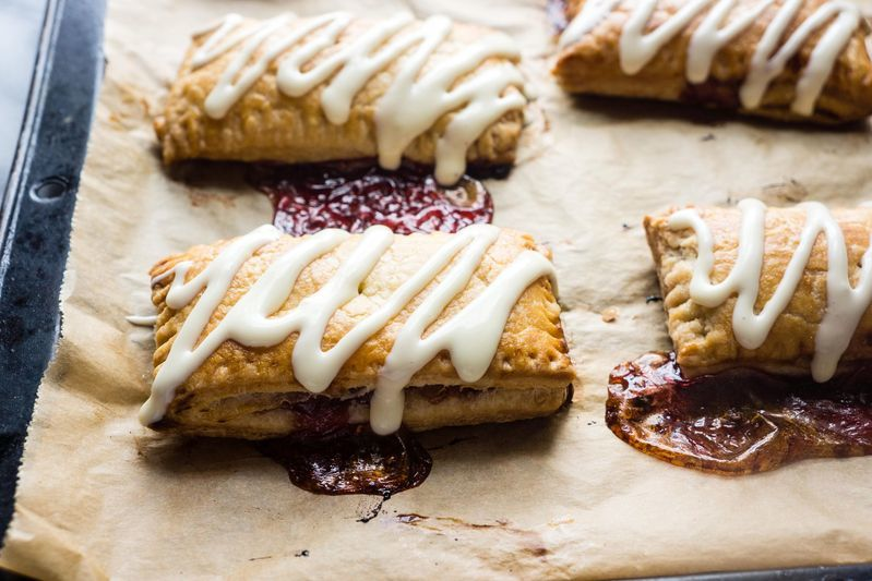 Homemade Toaster Strudels