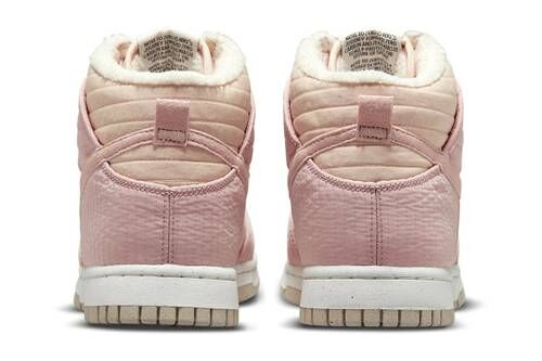 Cherry Blossom-Hue Fuzzy Sneakers