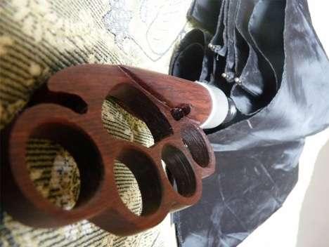 Badass Brass Knuckle Bumbershoots