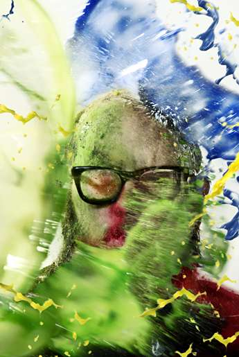 Paint-Splashed Illustrations